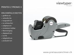 Printex Z Promo II Preisauszeichner
